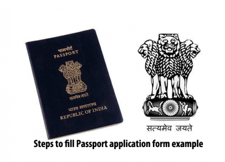 How To Fill Passport Application Form Online Offline With Examples